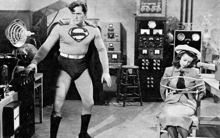 Every man wants to be Superman.